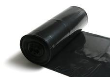Sacos de lixo em um rolo Imagens de Stock