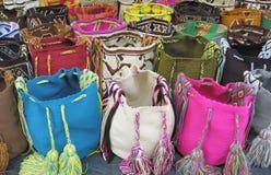 Sacos de ombro, Cartagena Imagens de Stock