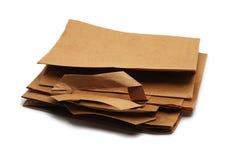 Sacos de papel Foto de Stock Royalty Free
