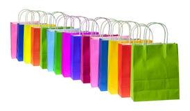 Sacos de papel coloridos fotos de stock royalty free