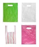 Sacos de plástico. imagem de stock