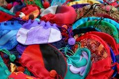 Sacos de seda Fotografía de archivo libre de regalías