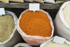 Sacos de vegetais Imagem de Stock