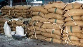 sacos do cânhamo Imagem de Stock