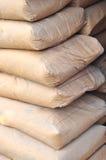 Sacos do cimento Imagens de Stock