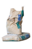 Sacos do cimento Imagem de Stock