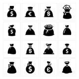Sacos do dinheiro ilustração stock