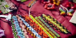Sacos do tecido do handwork Foto de Stock Royalty Free