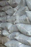 Sacos empilhados Foto de Stock
