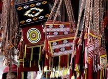 Sacos Handmade Imagens de Stock