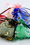 Sacos Handmade de pano Fotos de Stock Royalty Free
