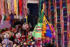 Sacos Handmade no mercado imagem de stock royalty free