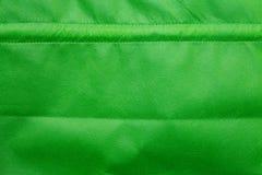 Sacos verdes de pano imagem de stock royalty free