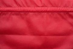 Sacos vermelhos de pano fotografia de stock royalty free