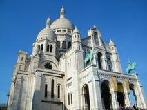 """Sacré-CÅ """"ur, Parijs - Frankrijk - Europa royalty-vrije stock foto's"""