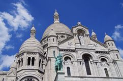 Sacré-Coeur Basilica, Paris Stock Photography