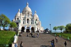 Sacré-Coeur in Paris Stock Photos