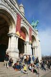 Sacré-CÅ «ur βασιλική, Παρίσι Στοκ φωτογραφία με δικαίωμα ελεύθερης χρήσης
