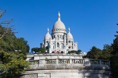 """Sacré-CÅ """"urbasilika, Paris Arkivfoton"""