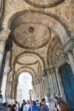 Sacré-Coeur大教堂在巴黎 免版税库存图片