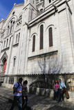 Sacré-Coeur大教堂在巴黎 免版税库存照片