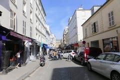 Sacré Coeur大教堂在巴黎 库存图片