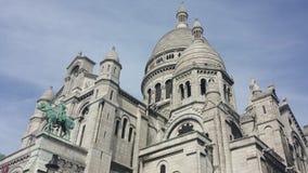 Sacré-Coeur de Paris Royaltyfri Fotografi