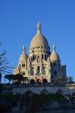 Sacré Coeur - kyrka i Paris Arkivfoton
