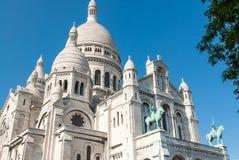 Sacré Cœur II的大教堂 图库摄影