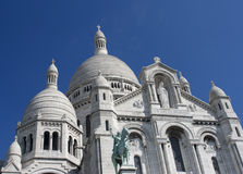 Sacré-Coeur, Παρίσι Στοκ εικόνα με δικαίωμα ελεύθερης χρήσης