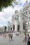 Sacré Coeur, Παρίσι στοκ φωτογραφία