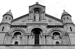 Sacré-Coeur, Париж Стоковая Фотография
