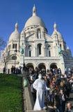 Sacré-Coeur Fotografía de archivo libre de regalías