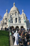Sacré-Coeur Lizenzfreie Stockfotografie