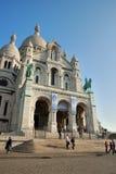Sacré-Coeur in Parijs Royalty-vrije Stock Afbeelding