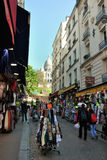 Sacré-Coeur in Parijs Stock Fotografie