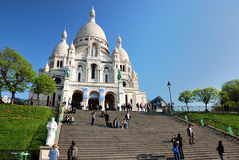 Sacré-Coeur in Paris Stock Photos