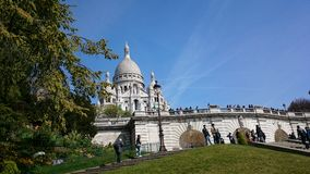 Sacré Couer Royalty Free Stock Images