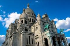 Базилика Sacré Cœur Стоковое Изображение RF