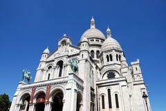Sacré-Coeur de Montmartre, Paris, France. Stock Photo