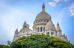Sacré-Cœur Basilica Stock Photography