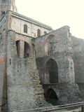 Sacra di San Micaela, abadía medieval italiana Imágenes de archivo libres de regalías