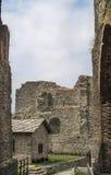 Sacra di San Micaela - santo Michael Abbey, Italia Fotos de archivo libres de regalías