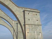 Sacra di San Michele abbey Arkivfoton