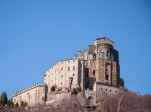 Sacra di san michele Royalty Free Stock Photo