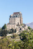 Sacra di San Michele abbey in northern western Italy Stock Photo