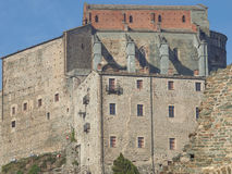Sacra di San Michele abbey Royalty Free Stock Photos