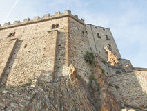 Sacra di San Michele abbey Royalty Free Stock Image