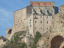 Sacra di San Michele abbey Royalty Free Stock Photography