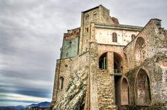Sacra di San Michele - Avigliana - Turin - Kloster Italien Stockfoto